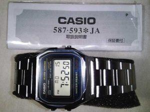 カシオ チプカシ デジタル腕時計 A158WA-1JF
