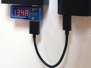 電圧電流チェッカー RT-USBVA1 USB CHARGER