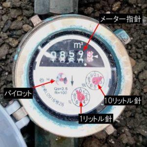 水道 漏水 水道メーター