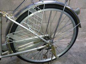 自転車 パンク タイヤ交換 26インチ