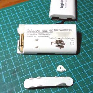 LBT-AR100C2 Bluetooth オーディオレシーバ リチウムイオンバッテリー交換