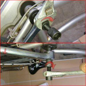 自転車 修理 コッタレスクランク ボトムブラケット リテーナー交換