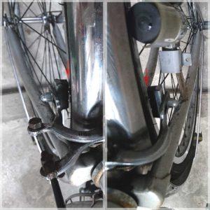 ママチャリ 自転車 ブレーキ ワイヤー交換