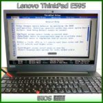 Lenovo ThinkPad E595 BIOS画面(Ver1.11)