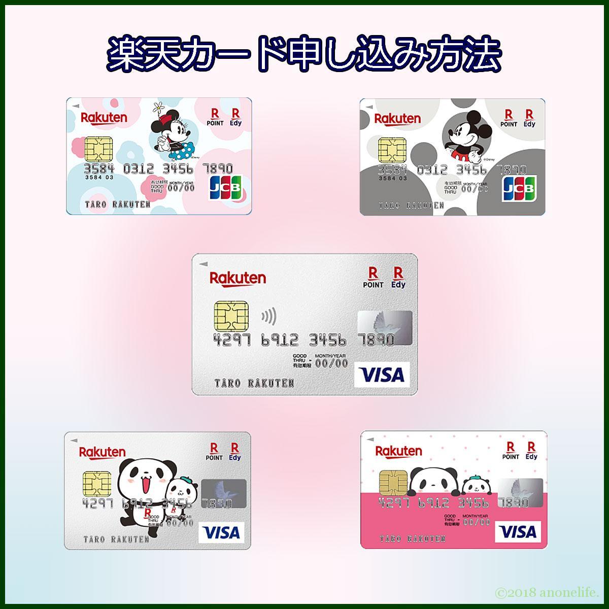 クレジットカード 楽天カード